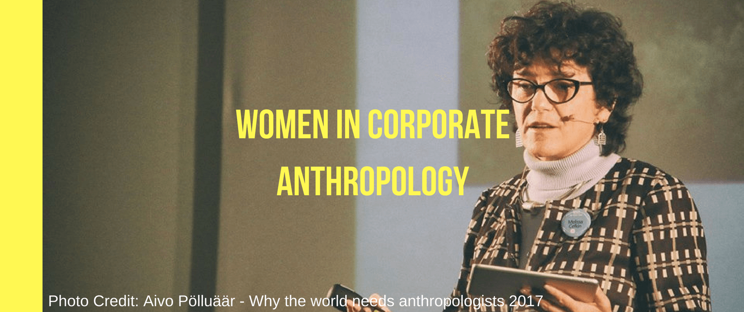 women in corporate anthropology